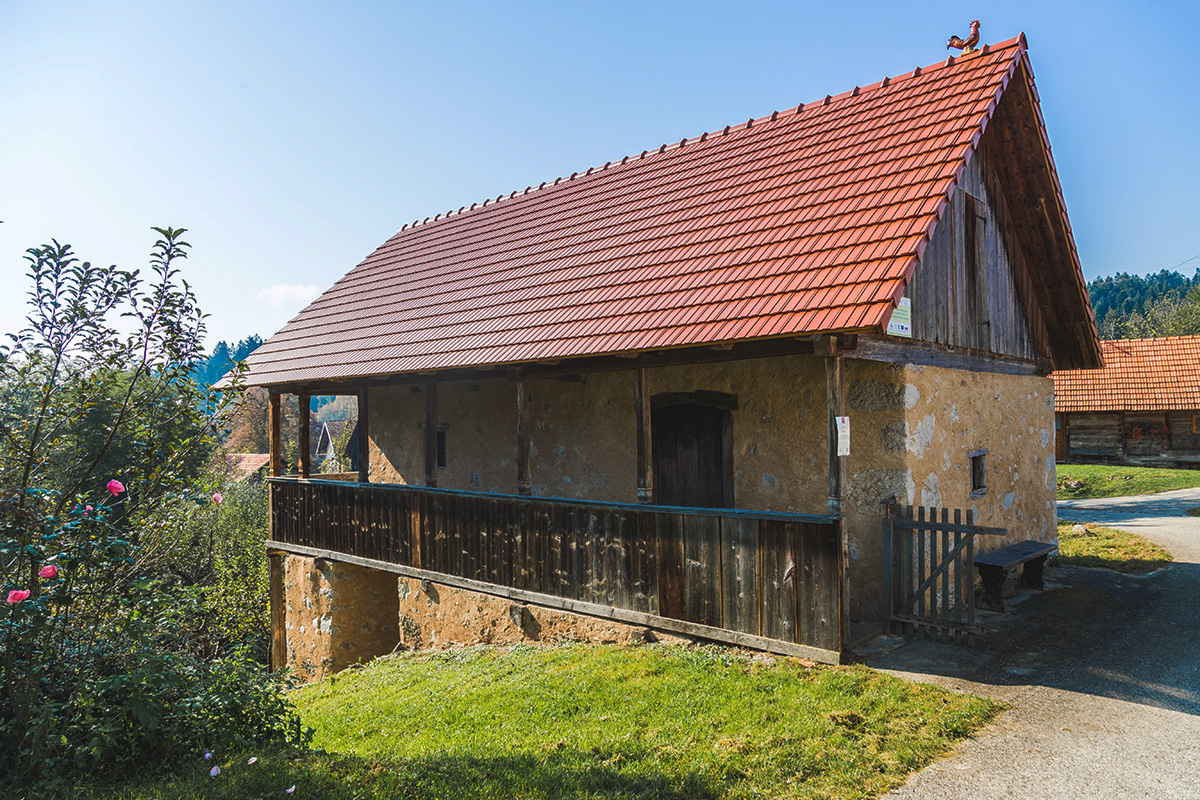 Plavčeva domačina, Info center Krajinskega parka Lahinja