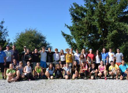 Udeleženci Dijaškega biološkega tabora v Golobičevcu 2020, avtor: DBT