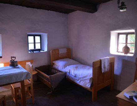 Notranjost Plavčeve domačije