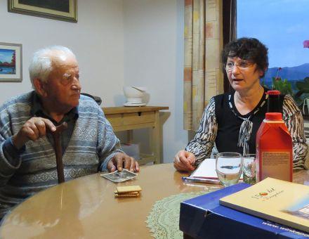 Rafko Veselič in Zdenka Pezdirc